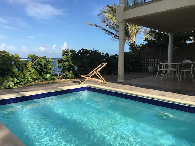 ★ Family's and friends' getaway I Private pool ★ - Collectivité de Saint-Martin - Casa