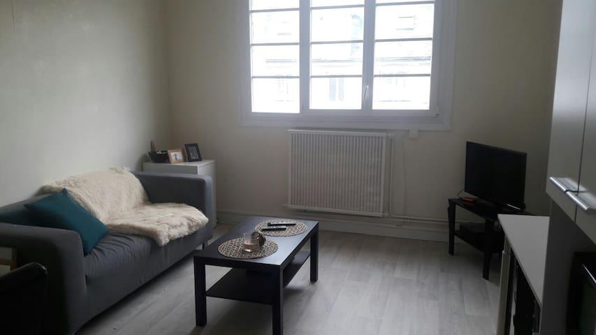 Appartement lumineux T2 idéalement situé - Tours - Byt