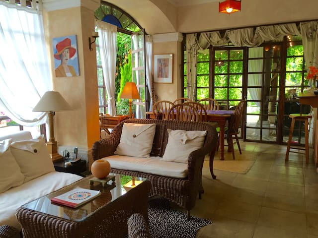 Cozy apartment with a beautiful garden - Antigua Guatemala - Appartement