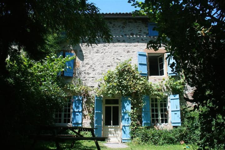 Chambre La Vienne - Saint-Germain-de-Confolens - Bed & Breakfast