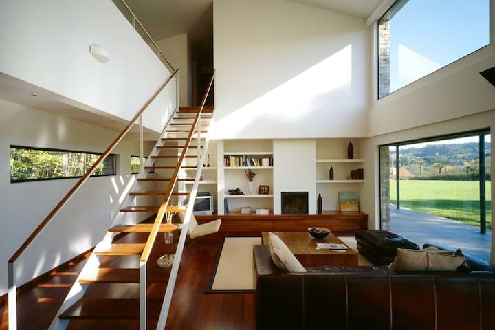 MODERN COUNTRY HOUSE NEAR CORUÑA - Abegondo - Huis