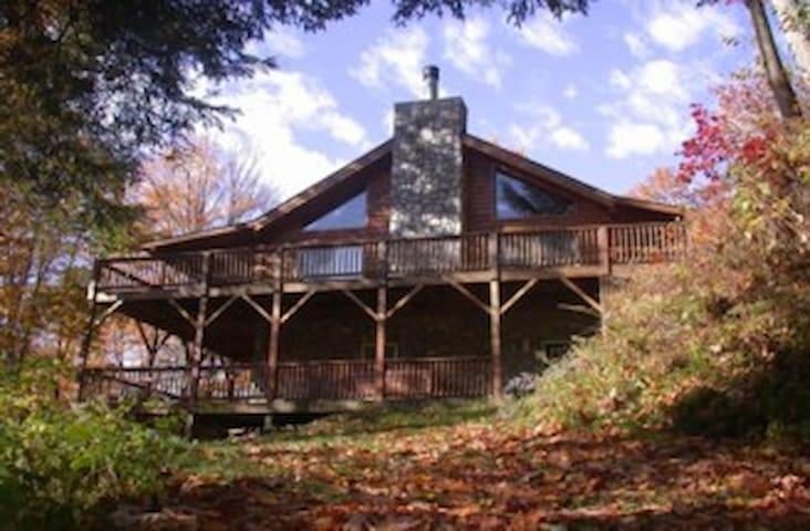 Walch Creekside Log Cabin Smoky Mnt - Sylva - Kabin