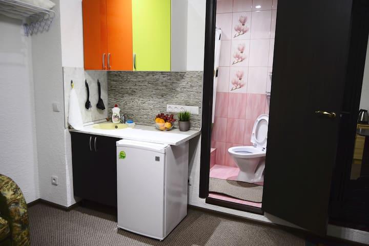 Апартаменты-студио Suponevo Life в Звенигороде - Zvenigorod - Apartamento