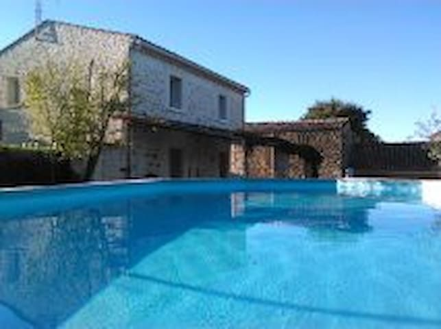 Mas 4 chambres 2 salles d'eau près de la Garrigue - Domessargues - Hus