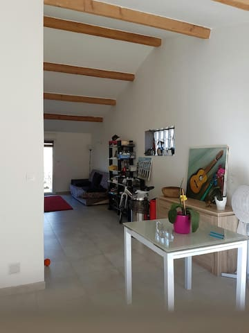 Joli studio moderne(45 m2)  à Clarensac (Gard) - Clarensac - Hus