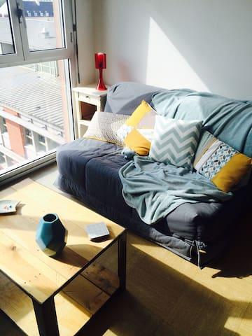 Appartement cocooning en centre ville - Amiens - Lägenhet