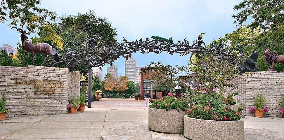 FREE PARKING+BK in Lincoln Park - Chicago - Wohnung