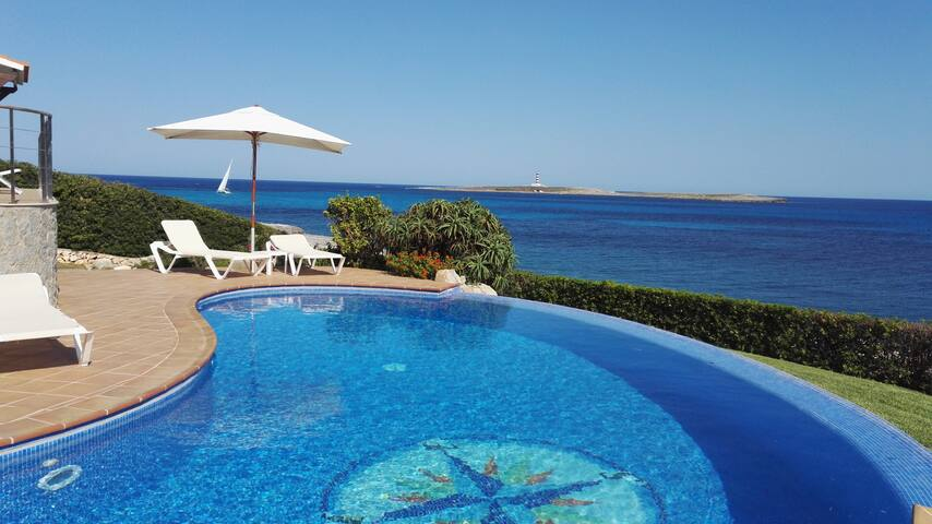 """Camera """"Stelle"""" in villa with swimming pool - Sant Lluís - Bed & Breakfast"""