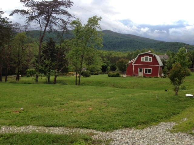 The Tiny Red Barn - Afton - Huis