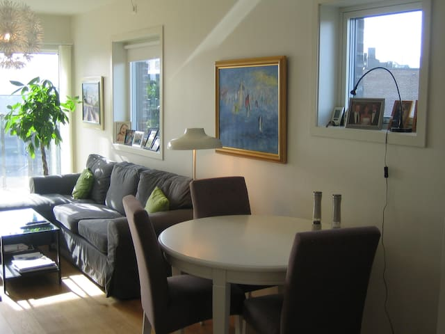 Top floor new apartment 10 min from Oslo - Bærum - Apto. en complejo residencial