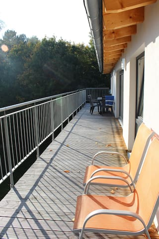 penthouse with roof terrace - Munique - Apartamento