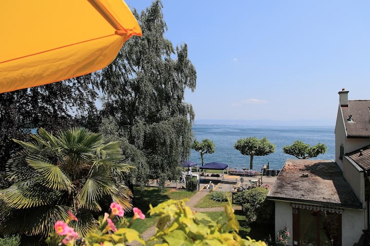 010 Nice flat with view on lake - Saint-Prex - Appartement