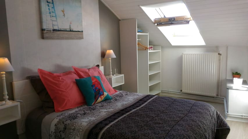 2 bedrooms for 4 people in Touraine - Chinon - Townhouse