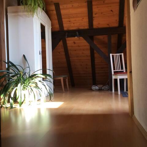 separate Ferienwohnung unter Reetdach - Rostock - Departamento
