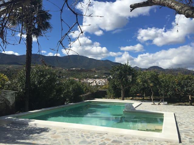 Paradisiac retreat in Lecrin Valley - Granada - Casa