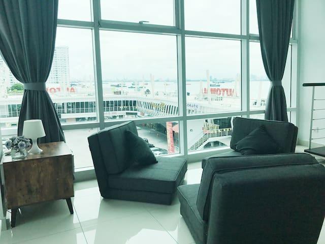 Seafront Ensuite Penang Georgetown - George Town - Kondominium