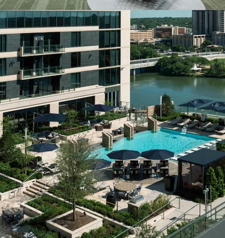 Luxury Downtown Apartment - Austin - Lejlighed