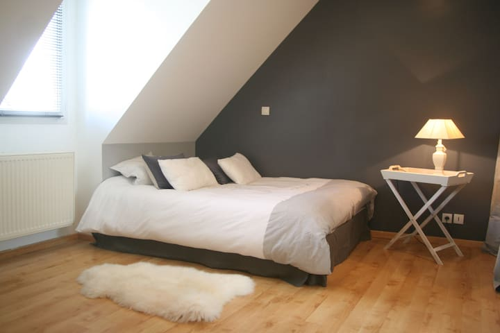 Room in quiet residential neighborhood - Trélazé - Hus