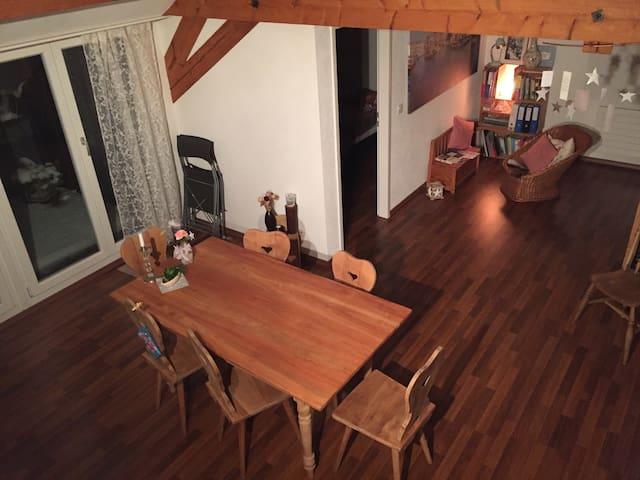 Charmante Dachwohnung - Frauenfeld - Leilighet