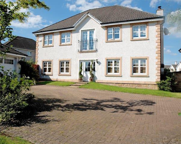 Stylish,  Scottish Home in the Kingdom of Fife - Dunfermline