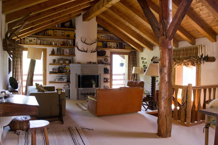 18th C Rascard in Gran Paradiso National Park - Valsavarenche - Chalet