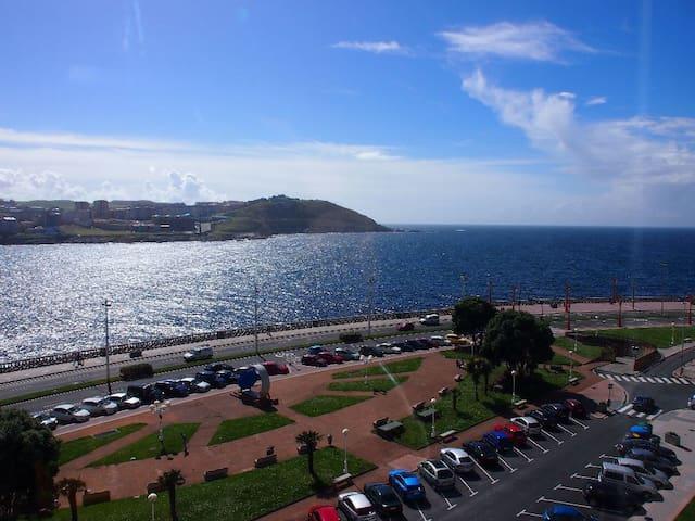 Paseo Marítimo, 1ª Fila de Mar. - La Coruña - Appartement en résidence