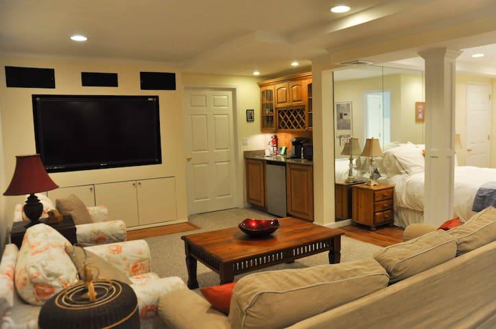 Spacious Studio Apartment- near SBU - Stony Brook - Departamento