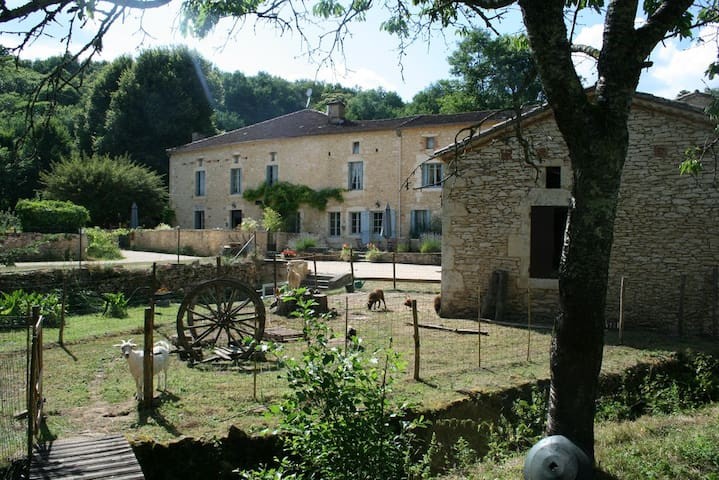 LA MOULEDE, gîte 70m² au Moulin de Saint Avit - Gavaudun - Daire