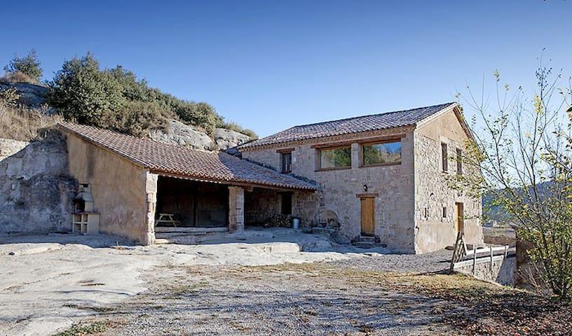 Palau del Roc - Casa Rural -1h Bcn - Santa Maria de Merlès - Maison