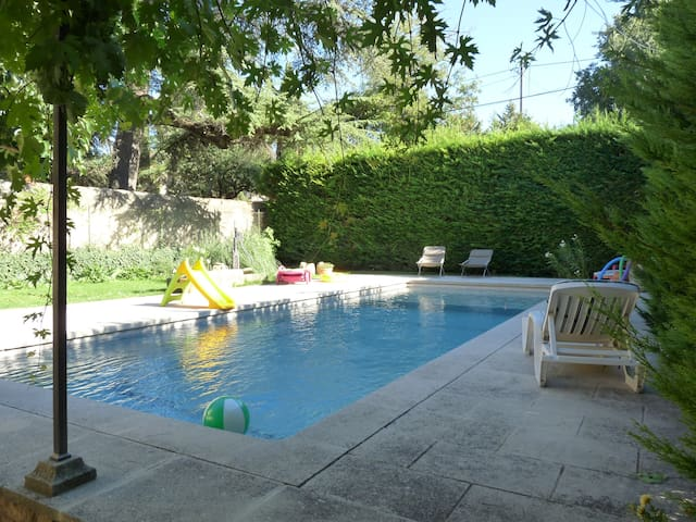 Villa avec piscine en Provence Luberon Pays d'Aix - La Roque-d'Anthéron - Villa