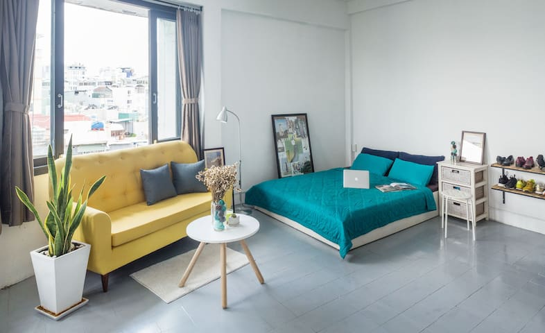 Hipster designer studio in vibrant centre - Ho Chi Minh City - Appartement