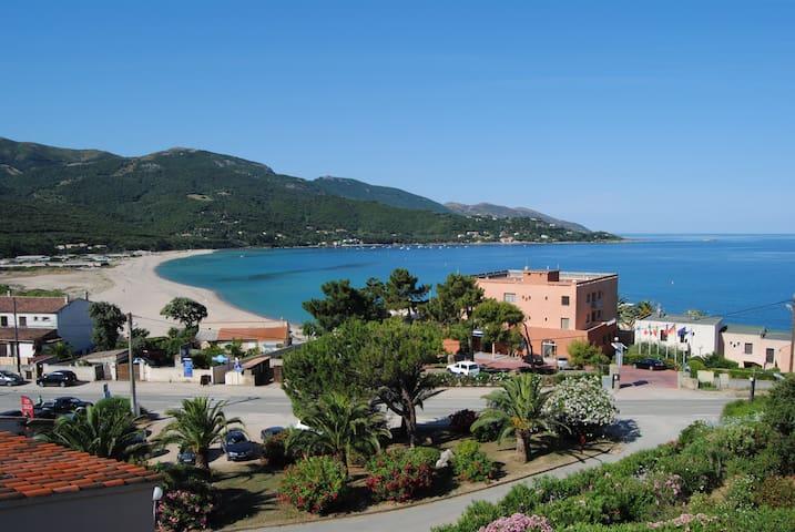 Lovely sea view duplex apartment - Calcatoggio