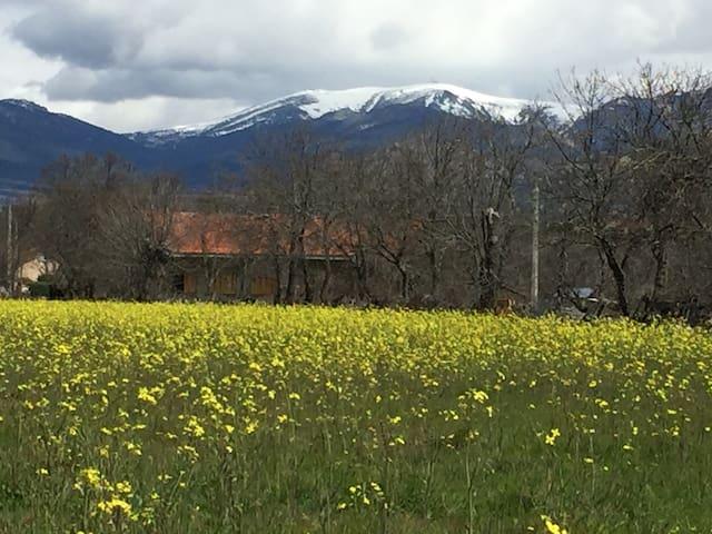 Casa entera con vistas a la Sierra - Guadarrama - Casa