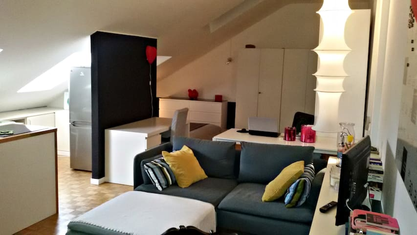 Attic, perfect location - Monza