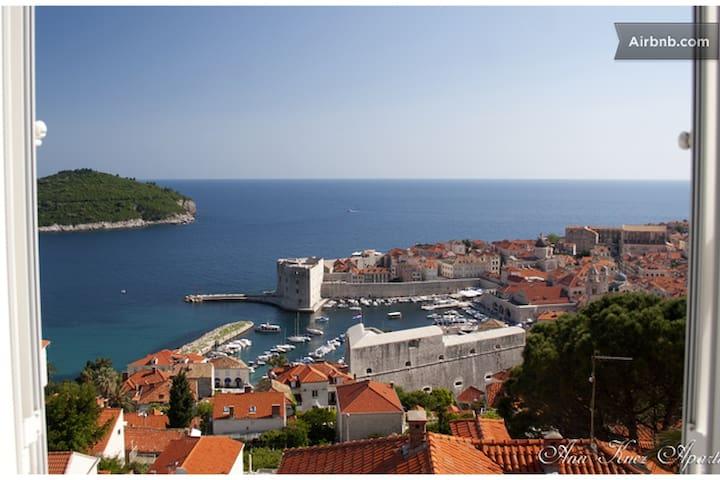 Luxury apartment/sea view,free park - Dubrovnik - Appartement