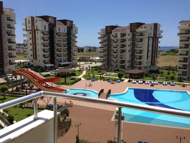 Апартаменты в Турции, Аланья - Avsallar - Lägenhet