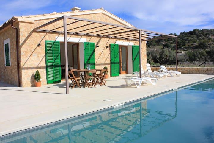 """Es Campet"". Villa with private pool and piano. - Mancor de la Vall - Hus"