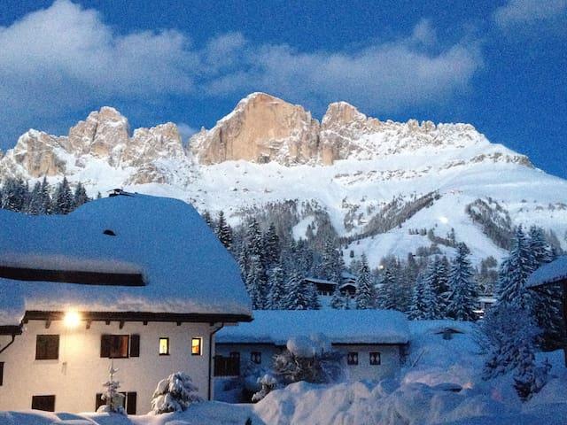 Alps: an apartment in the Dolomites - Carezza - Departamento