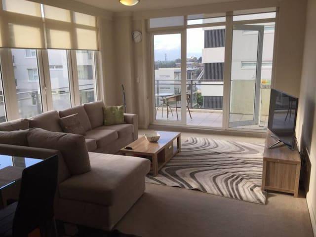 Big master bedroom in a modern flat in meadowbank - Meadowbank - Daire