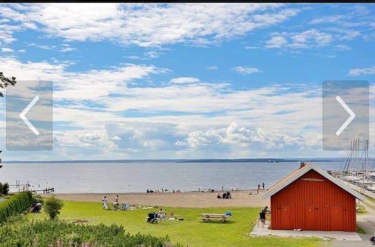 Beautiful calm summer/holiday place at the beach - Rygge - Vakantiewoning