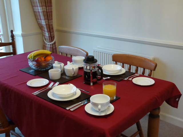 Twin bedded room - Hatherden - Bed & Breakfast