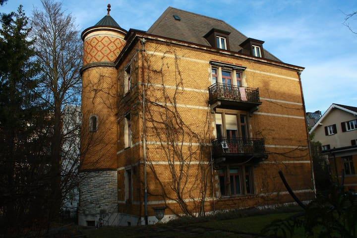 Penthouse, terrace+garden+easy accessible - Zürich - Appartement