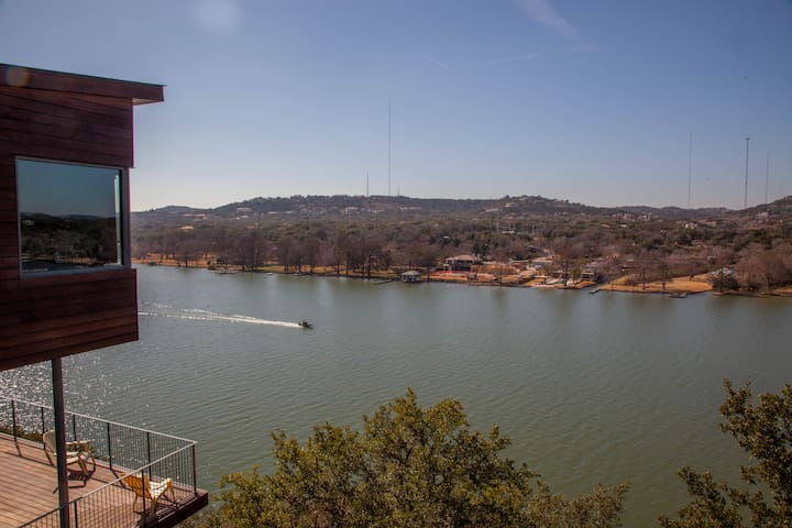 Amazing View overlooks Lake Austin! - Austin - Leilighet