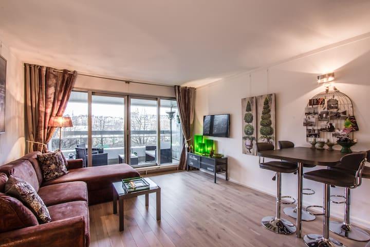 Cosy private studio near Eiffel Tower - Paris - Daire