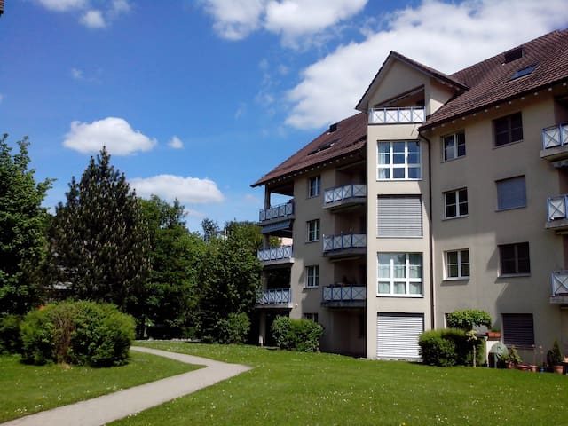Near Zurich & all 4 urself!Sunny, near forest&lake - Uster