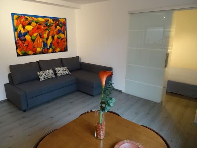 Ruhige Souterrain Wohnung in Fun-Park Nähe - Zirndorf - Apartemen
