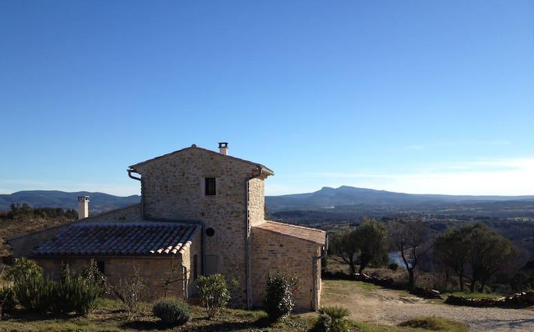 Mazet with exceptional views - Saint-Brès