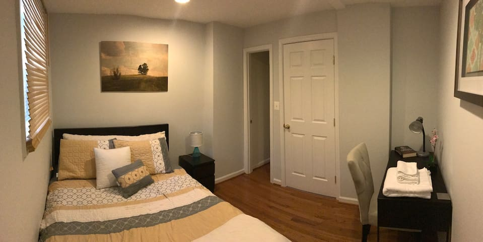 COZY Place enjoy 1BR+Private Bath, min away to DC! - Brentwood
