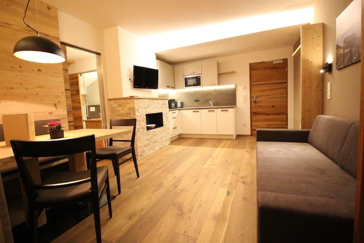 Apartment 40qm mit Wellness Ahrntal - Lutago di Sopra - Appartement