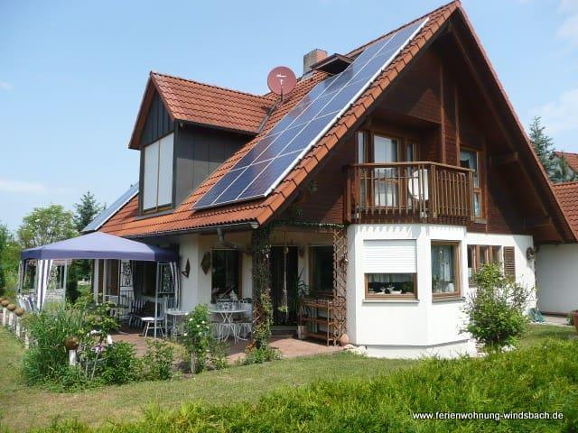 Erdgeschosswohnung m.Terasse & WIFI - Windsbach - 公寓